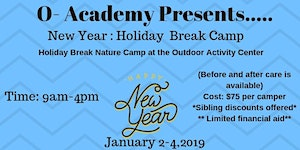 O-Academy: New Year: Holiday Break Camp 2018
