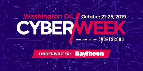 2019 DC CyberWeek tickets