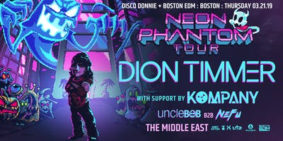 Dion Timmer x Kompany at the Middle East | 3.21.19 | 9:30 PM