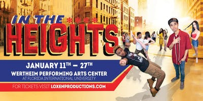 In The Heights 1/20 2:00 PM