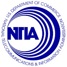 National Telecommunications and Information Administration (NTIA)  logo
