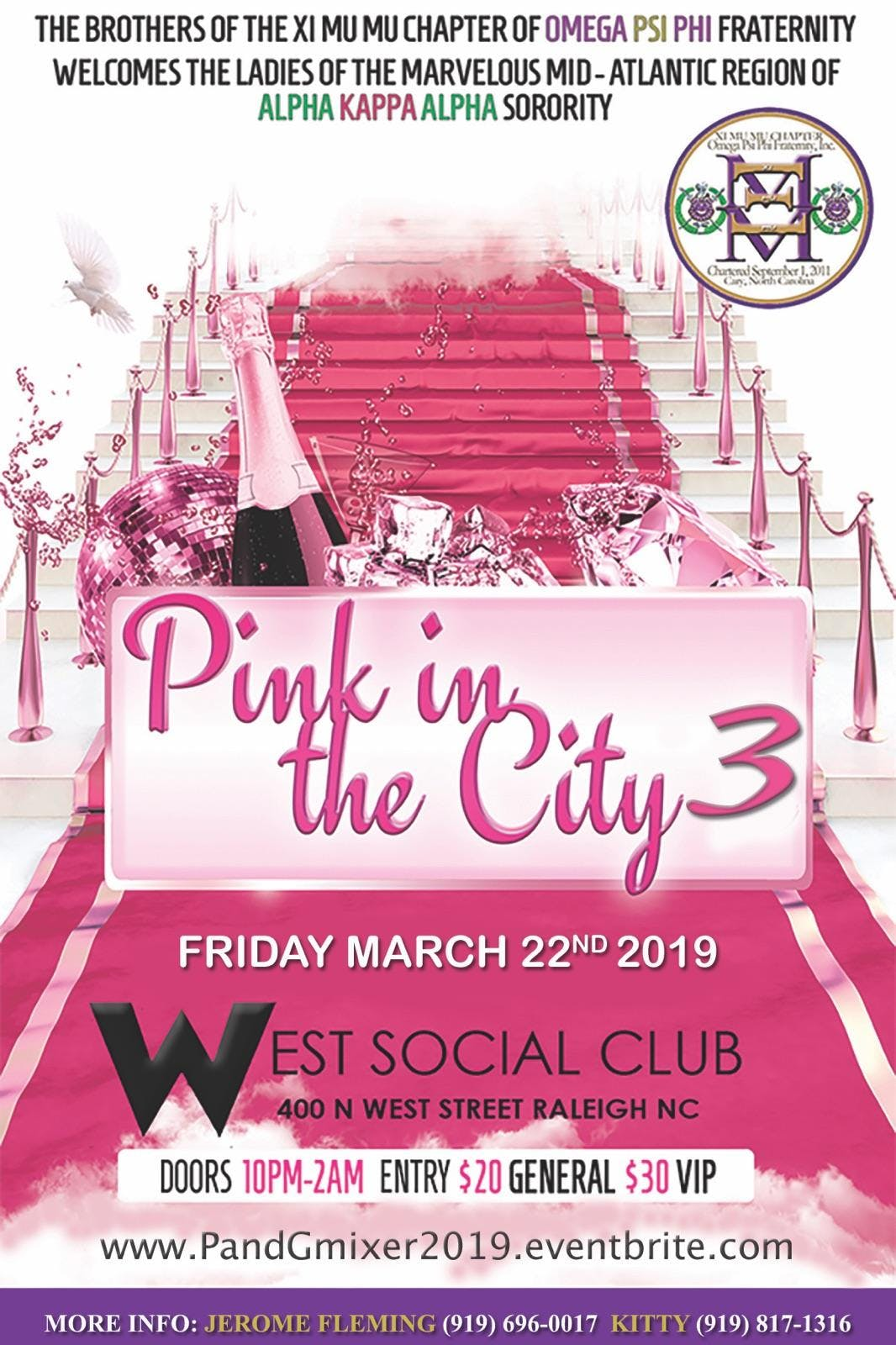 Pink In The City 3 West Social Club