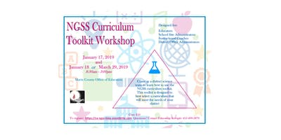 Next Generation Science Standards Curriculum Toolkit Workshop (CA NGSS Time)