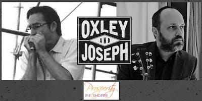 Oxley & Joseph: Live Blues Music at Prosperity Pie Shoppe