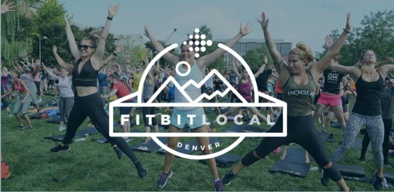 Fitbit Local Silent Disco Sweat and Stretch