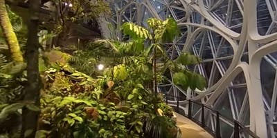 MGFTC trip to Volunteer Park Conservatory and Amazon Biospheres