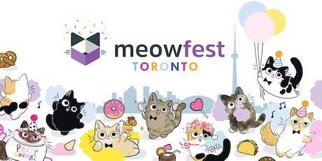 meowfest 2019, Toronto tickets