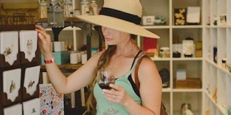 Wine Walk & Shop Small - 2019 tickets