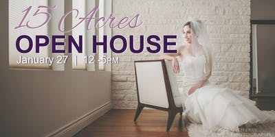 Winter Wedding Open House