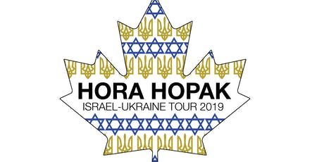 Hora Hopak Homecoming Concert, Sept 9, 7:30pm billets