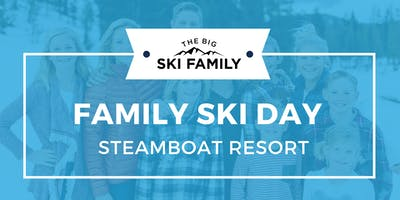 Family Ski Day at Steamboat Resort