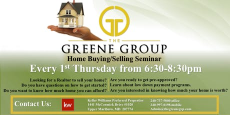 Let's Talk REAL Estate w/ The Greene Group  tickets
