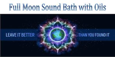 Full Moon Sound Bath with Oils