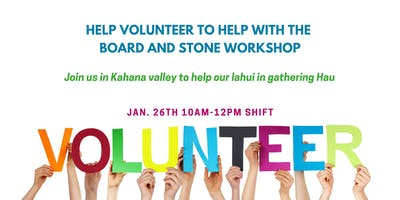 Volunteer at Board & Stone 2019 - Day 2