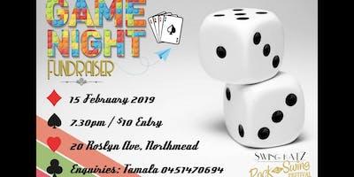 Games Night - fundraiser