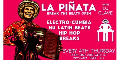 La Piñata: Free Latin Party!
