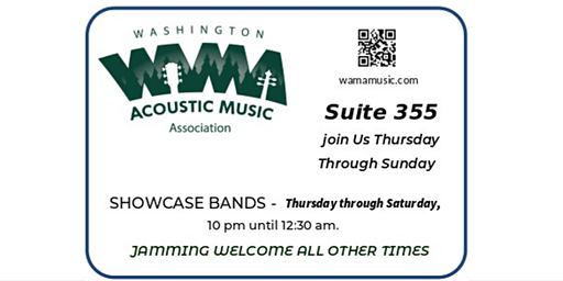 2020 WAMA Wintergrass Hospitality Suite - Bellevue, WA  (FREE - No tickets)