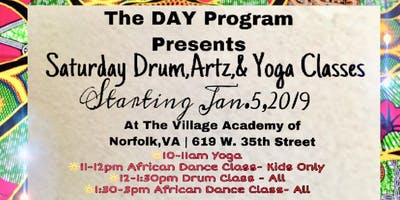 The DAY Program  (West African Drum  Class)
