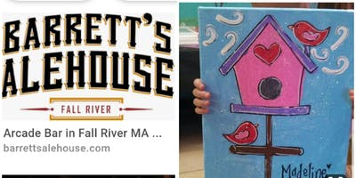 Birdhouse/Family Paint Event Fall River