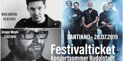 Festivalticket Konzertsommer Rudolstadt 26.07.2019 - 28.07.2019