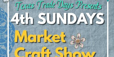 March 4th Sunday Kingwood Craft Show