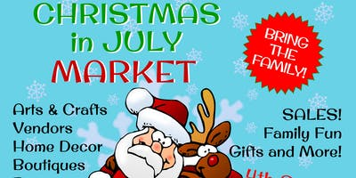 Christmas in July 4th Sunday Kingwood Craft Show