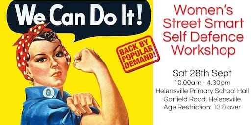 Women's Street Smart Self Defence Workshop - Helensville September 2019