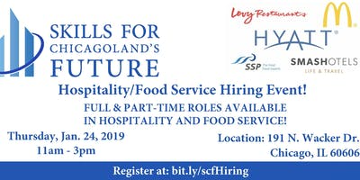 Hospitality & Food Service Hiring Event