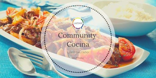 Community Cocina: Lomo Saltado