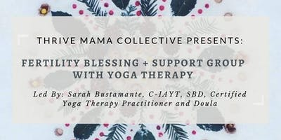 Winter Fertility Blessing + Support Group with Yoga Therapy