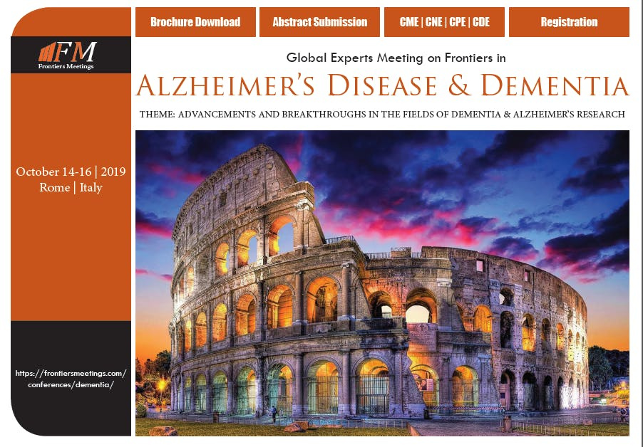 Global Experts Meeting on Frontiers in Alzhei