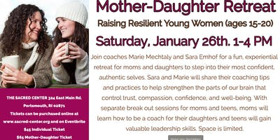 Mother-Daughter Retreat with Sara & Marie