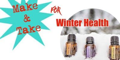 Essential Oil Make & Take for Winter Health #1