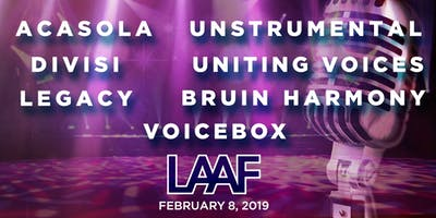 Los Angeles A Cappella Festival Scholastic Competition 2019