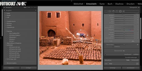 LIGHTROOM Lehrgang mit ADOBE Certified Expert Eric Berger.  Tickets