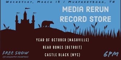 Castle Black & Bear Bones at Media Rerun