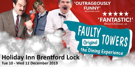 A Christmas Faulty Towers The Dining Experience tickets