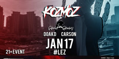 LEZ THURSDAYS & BASS MUSIC with KOZMOZ ALIEN GANG