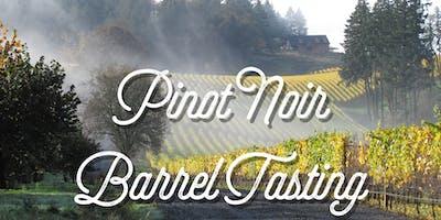 2018 Pinot Noir Barrel Tastings