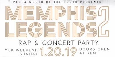 Memphis Legends 2 Rap Concert & Party