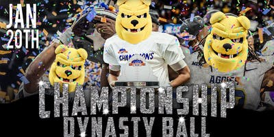 CHAMPIONSHIP DYNASTY BALL : NCAT OFFICIAL CELEBRATION VICTORY PARTY