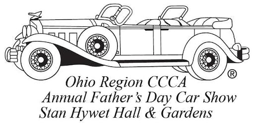 ORCCCA's 62nd Annual Father's Day Car Show - Stan Hywet -REGISTRATIONS