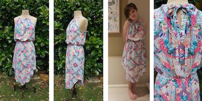 Summer Breeze Dress Sewing Workshop