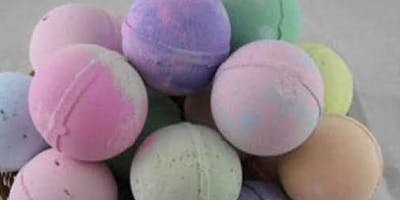Bath bombs all ages school holiday workshop