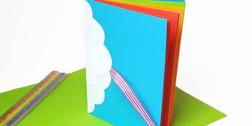 Rainbow Paper Notebook Creative Craft Class