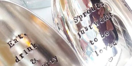 Seasonal Spoon Stamping Creative Craft Class tickets