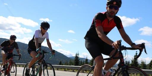 Challenges l'Île d'Orléans 2019. Mon vélo la nuit. Vendredi 21 juin. Québec.