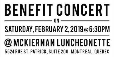 Benefit Concert for the Mile End Mission
