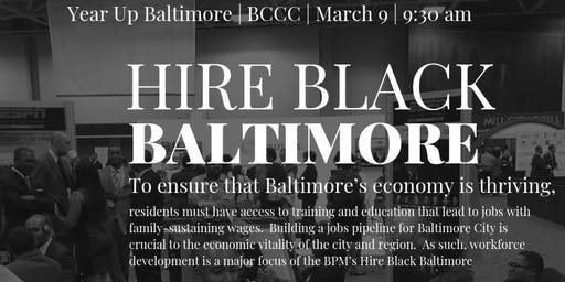 Hire Black Baltimore