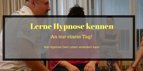 Hypnose lernen an einem Tag (Frankfurt) Tickets